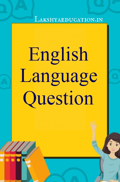 English Language Questions