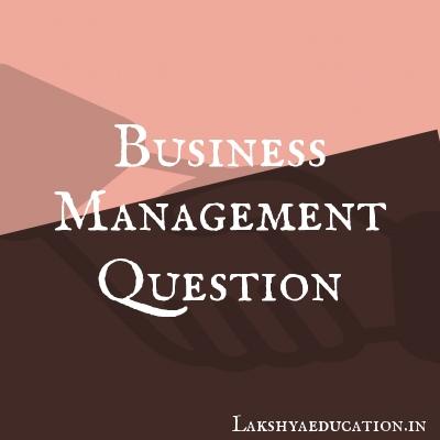 business management Questions