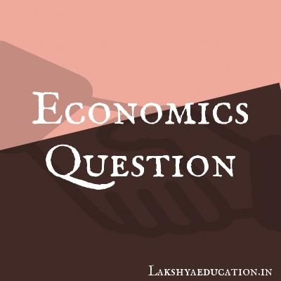 economics Questions