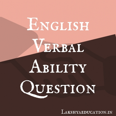 english verbal ability Questions