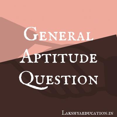general aptitude Questions