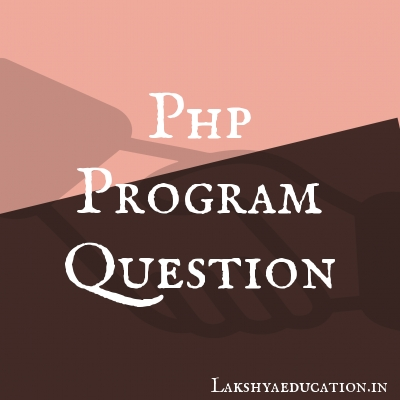 php program Questions
