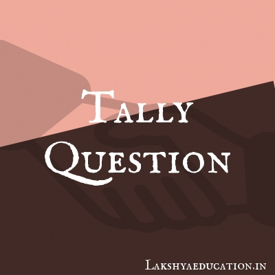 tally Questions